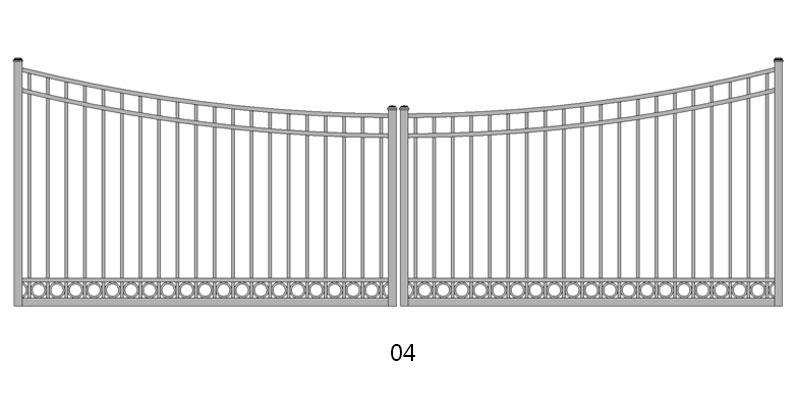 Heavenly Gates   Driveway Gates